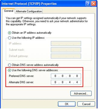 google-public-dns-servers